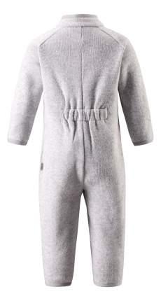 Комбинезон детский Reima Fleece overall Tahti серый флисовый р.74