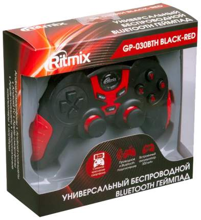 Геймпад  Ritmix GP-030BTH Black/Red