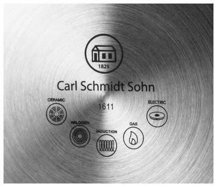 Чайник для плиты Carl Schmidt Sohn Aquatic 3 л цвет Черный