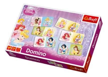 Семейная настольная игра Trefl Детское домино - Принцессы Дисней