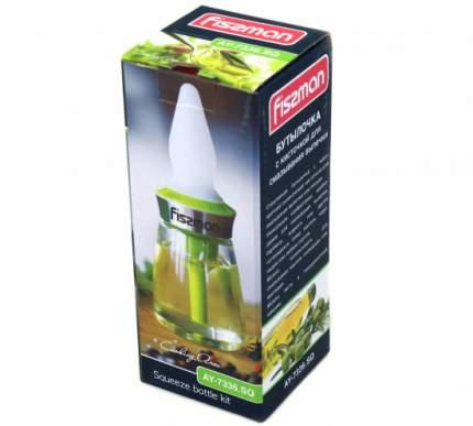 Бутылочка с кисточкой для смазывания выпечки (стекло + силикон) Fissman 7336