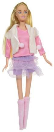 Кукла ABtoys Модница с гардеробом 84 предмета, 30 см