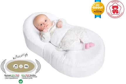 Кокон-матрас Dolce Cocon Plus для новорожденных, белый