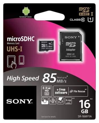 Карта памяти Sony Micro SDHC MY1 SR-16MY1A/T 16GB