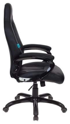 Кресло компьютерное игровое Бюрократ CH-827/Black+Black Черный