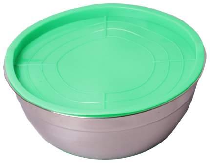 Миска Kamille 4351 Зеленый, серебристый