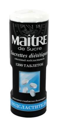 Подсластитель Maitre de Sucre таблетки 110 г