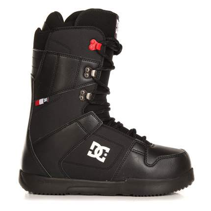 Ботинки для сноуборда DC Phase 2017, black/red, 27.5