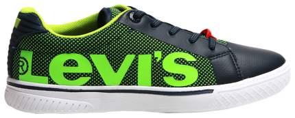 Кеды Levi's Kids navy f green 32 размер