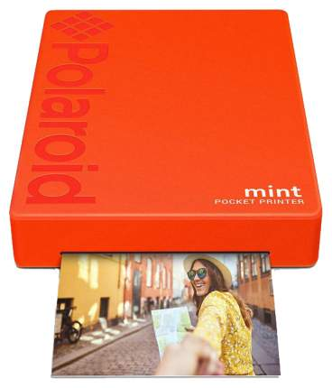 Компактный фотопринтер Polaroid Mint Red