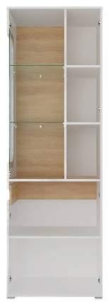 Платяной шкаф СтолЛайн STL_2019033100400 83х53,5х204,5, белый/дуб небраска