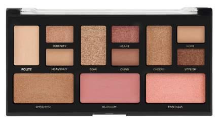 Набор для макияжа PROFUSION Pink Nudes Color Eye & Cheek Palette