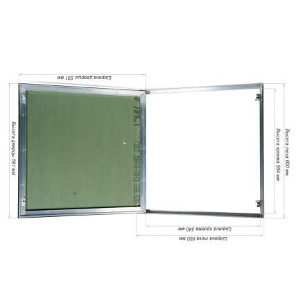 Ревизионный люк Практика Планшет Короб 60-60