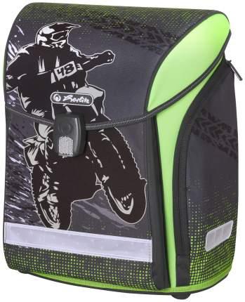 Ранец Motorcross Herlitz для мальчиков Черный 50020423