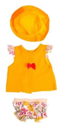 """Одежда для кукол """"Туника и трусики со шляпкой"""" Colibri"""