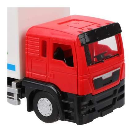 Машинка пластиковая Наша Игрушка Фургон инерционный M96512