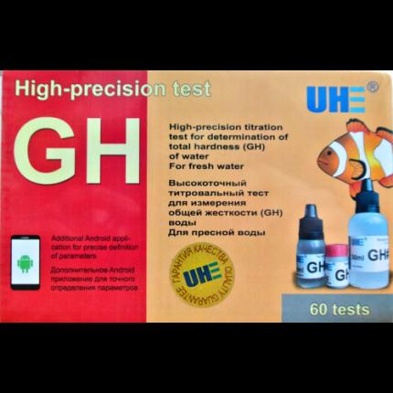 Тест для измерения общей жесткости пресной воды UHE GH test