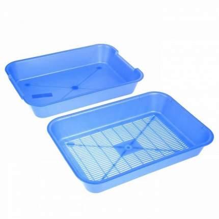 Лоток для кошек №1 с низким бортом, в ассортименте, 36 х 26 х 6 см
