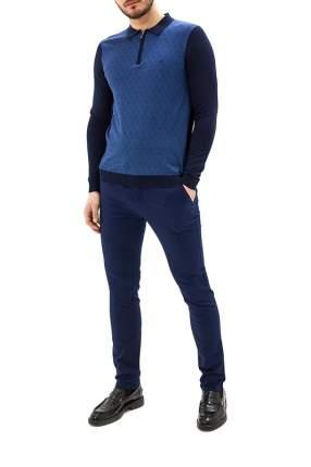 Рубашка мужская La Biali 5001/120 синяя 3XL
