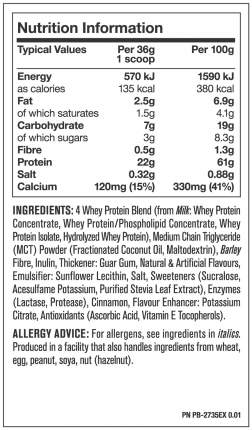 Протеин Mutant Whey 4540 г Vanilla Ice-Cream