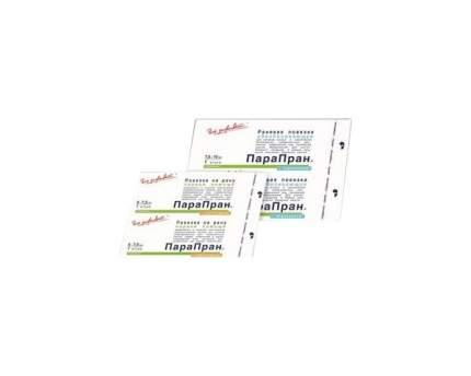 Повязка Парапран с хлоргексидином стерильна антимикробная атравматическая 7,5х10 см 30 шт.