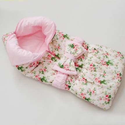 Одеяло-трансформер Евгения Весна Сливочная нежность с розовым