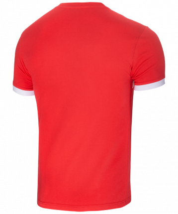 Футболка мужская Jogel JCT-1040-021, красные/белые, L INT