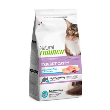 Сухой корм для кошек TRAINER Natural Exigent Cat,для привередливых,океаническая рыба,0,3кг