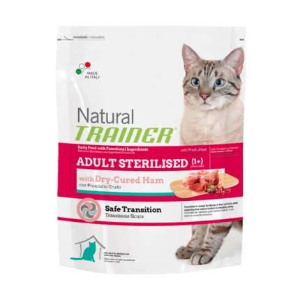 Сухой корм для кошек TRAINER Natural Adult Sterilised, для стерилизованных, бекон, 0,3кг