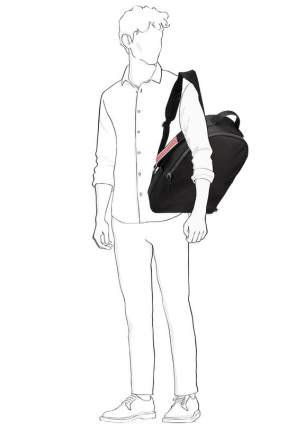 Рюкзак мужской Calvin Klein K50K5.04283.0010 черный 16 л