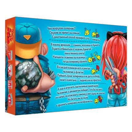 Настольная игра Dojoy Камень, ножницы, бумага - ЦУ-Е-ФА! 3-е издание