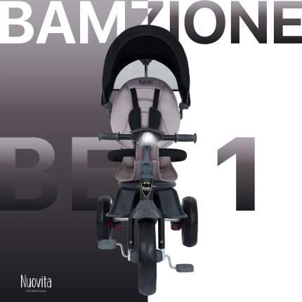 Трехколесный велосипед Nuovita Bamzione BE1 Nero/Черный