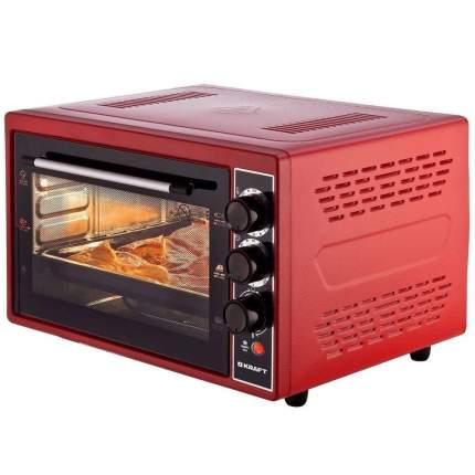 Мини-печь Kraft KF-MO3800R Red