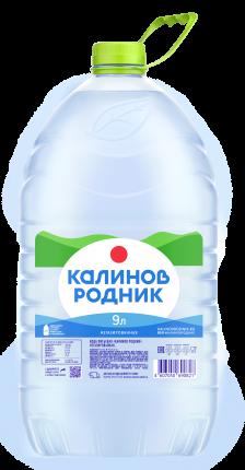 Вода питьевая Калинов Родник негазированная пластик 9 л