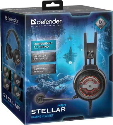 Игровая гарнитура Defender Stellar Pro Black