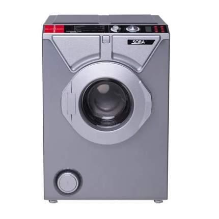 Комплект стиральная машина Eurosoba 1100 SPrint Plus Inox и раковина Кувшинка-Лайт