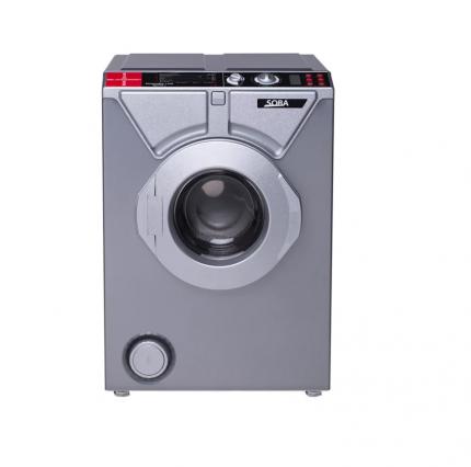 Комплект стиральная машина Eurosoba 1100 SPrint Plus Inox и раковина Кувшинка Элеганс