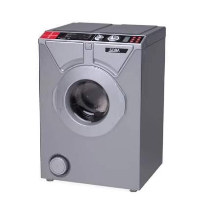 Комплект стиральная машина Eurosoba 1100 SPrint Plus Inox и раковина Кувшинка-Люкс-Лайт