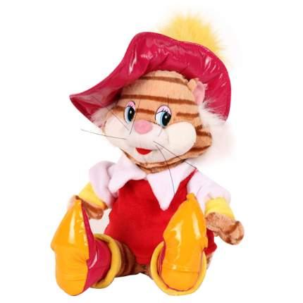 Мягкая игрушка Мульти-Пульти Кот в сапогах, озвученная 28 см