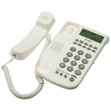 Телефон проводной Ritmix RT-440 White