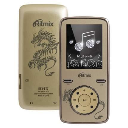 Портативный медиаплеер Ritmix RF-4850 8Gb Gold