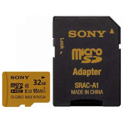 Карта памяти Sony Micro SDHC SR-32MX2A/NT 32GB