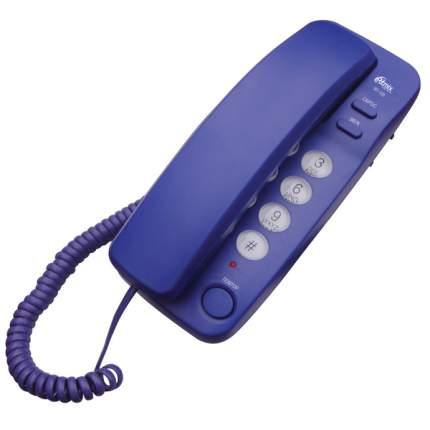 Телефон проводной Ritmix RT-100 Blue
