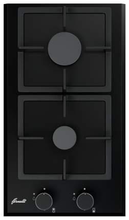 Встраиваемая варочная панель газовая Fornelli PGA 30 QUADRO Black
