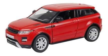 Машина металлическая Uni-Fortune 1:32 Range Rover Evoque инерционная красный матовый