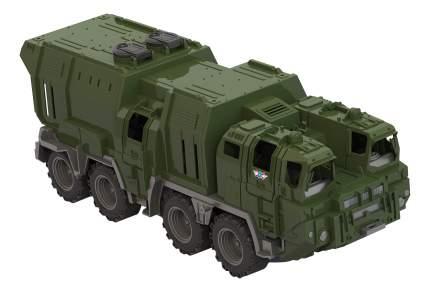 Военный транспорт Нордпласт Тягач Щит с кунгом 257