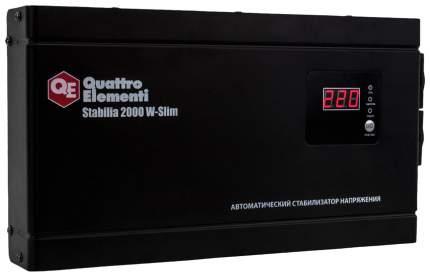 Стабилизатор напряжения QUATTRO ELEMENTI Stabilia 2000 W-Slim 772-586