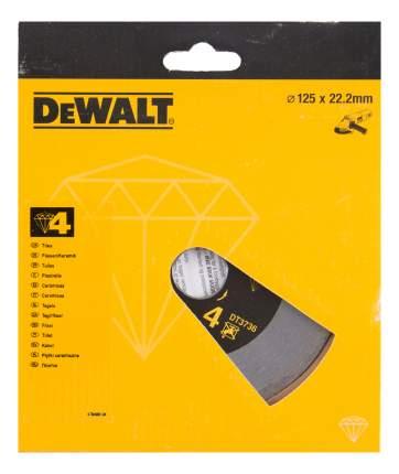 Диск алмазный отрезной по керамике DeWALT DT3736-XJ