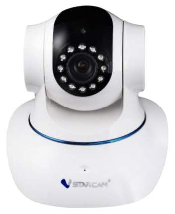 VStarcam Камера IP VStarcam C7835WIP CMOS 1/4&quot, 1280 x 720 H.264 RJ-45 LAN Wi-Fi белый