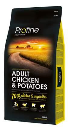 Сухой корм для собак Profine Adult Chicken & Potatoes, курица, картофель, 15кг